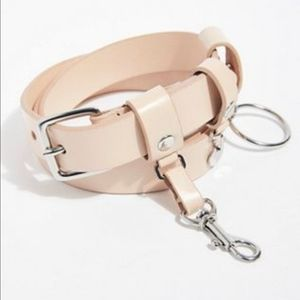 Free People Charmed Leather Belt